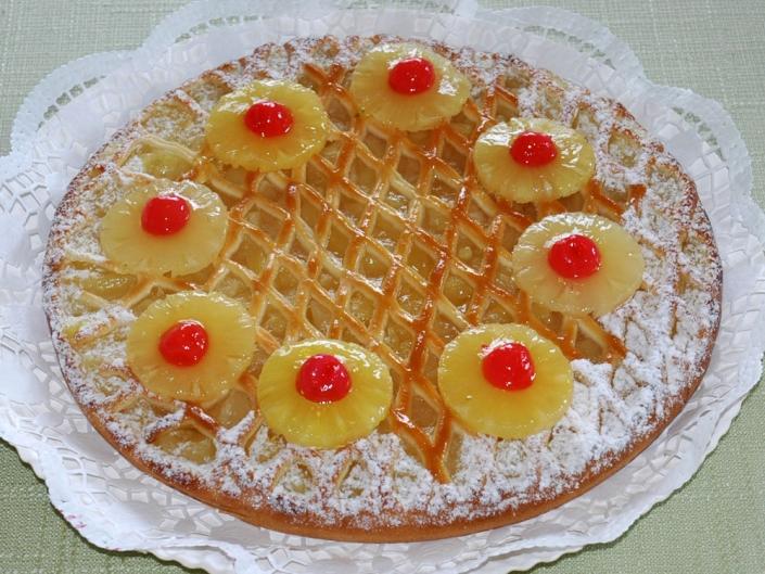 Ananas-Riemchen