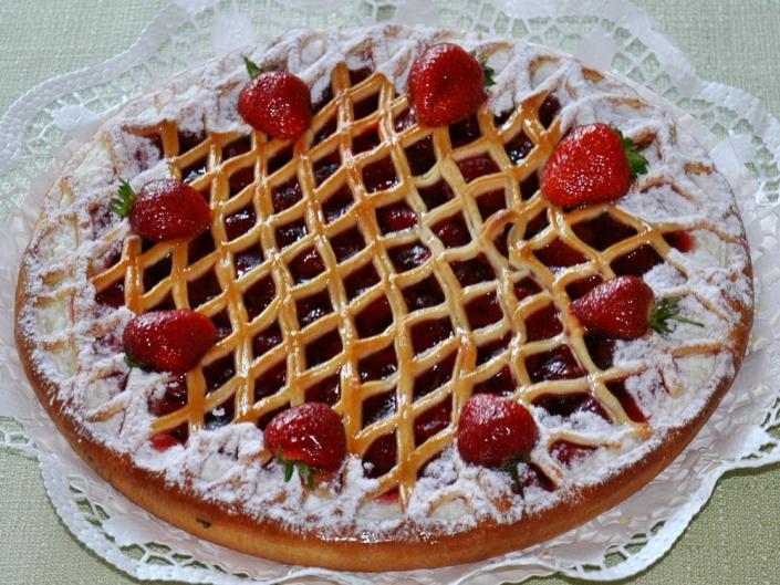 Erdbeer-Riemchen